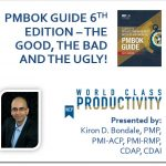 Free Webinar – October 11: <em>PMBOK<sup>®</sup> Guide</em> – 6th Edition – the Good, the Bad, and the Ugly!